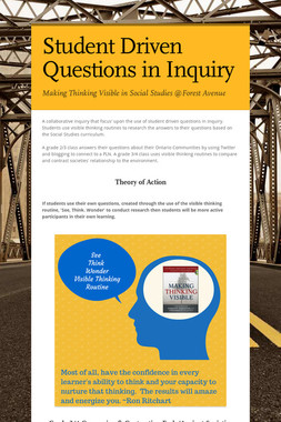 Student Driven Questions in Inquiry