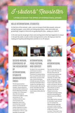 I-students' Newsletter