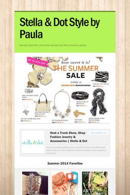 Stella & Dot Style by Paula