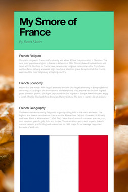 My Smore of France