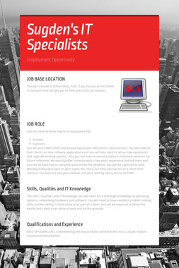 Sugden's IT Specialists