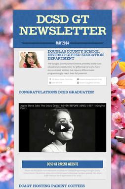 DCSD GT Newsletter