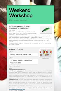 Weekend Workshop