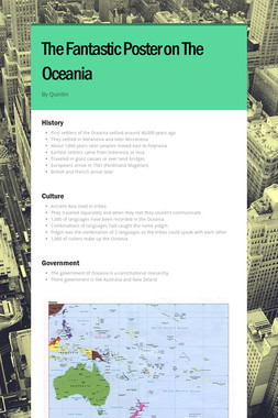 The Fantastic Poster on The Oceania