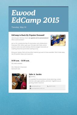 Ewood EdCamp 2015