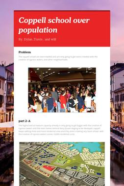 Coppell school over population