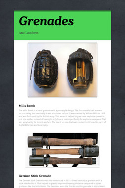 Grenades