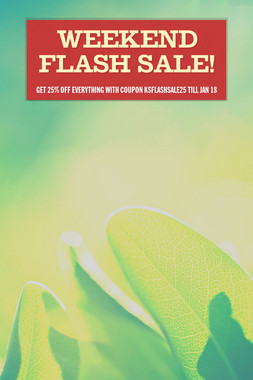 Weekend Flash Sale!