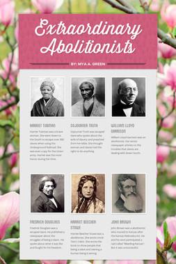 Extraordinary Abolitionists