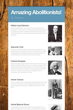 Amazing Abolitionists!