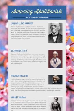 Amazing Abolitionists