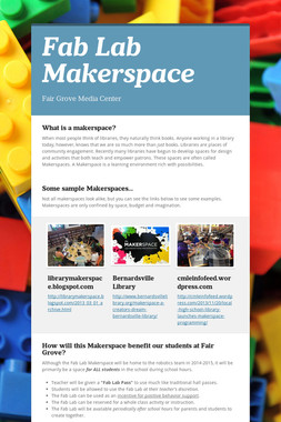 Fab Lab Makerspace