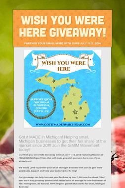 Wish you were HERE Giveaway!
