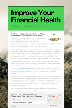 Improve Your Financial Health