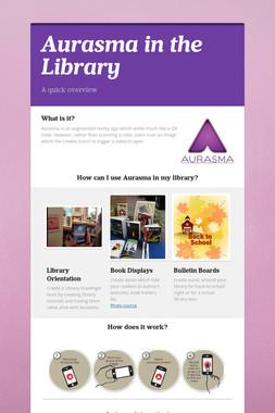 Aurasma in the Library