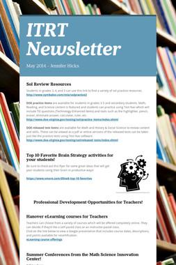 ITRT Newsletter