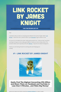 Link Rocket by James Knight