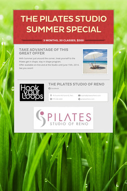 THE PILATES STUDIO SUMMER SPECIAL