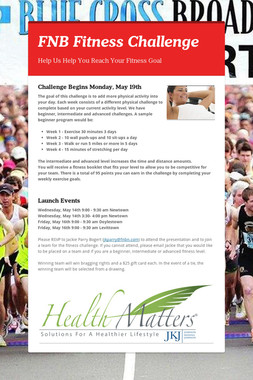 FNB Fitness Challenge