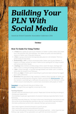 Building Your PLN With Social Media