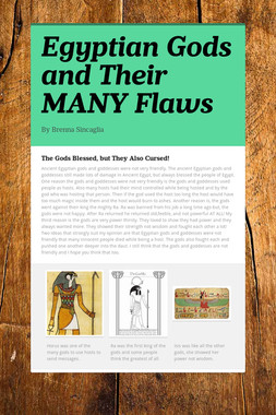 Egyptian Gods and Their MANY Flaws