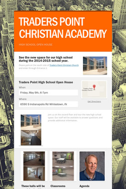 TRADERS POINT CHRISTIAN ACADEMY