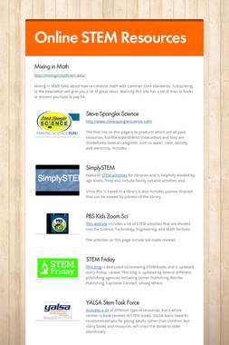Online STEM Resources