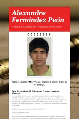 Alexandre Fernández Peón