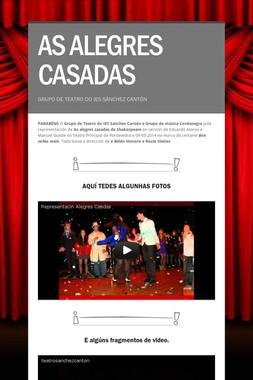 AS ALEGRES CASADAS