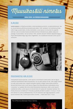 Muusikastiili nimetus