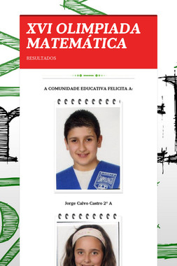 XVI OLIMPIADA MATEMÁTICA