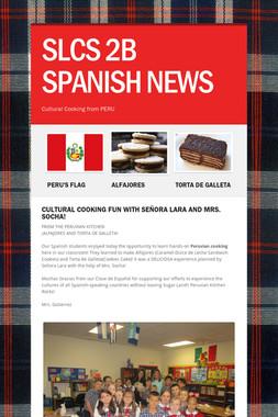 SLCS 2B SPANISH NEWS
