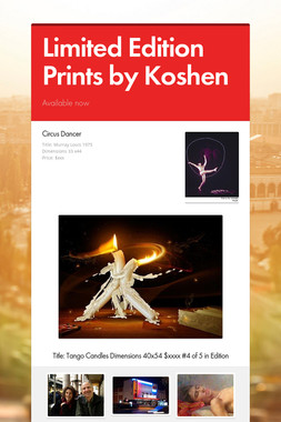 Limited Edition Prints by Koshen