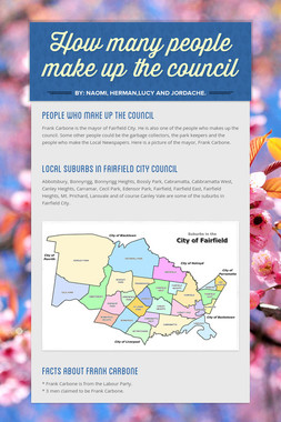 How many people make up the council