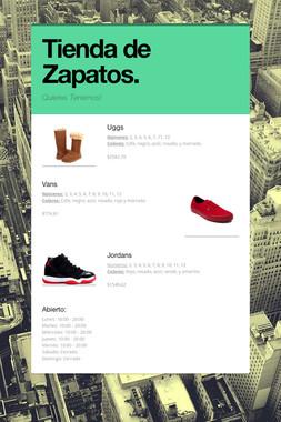 Tienda de Zapatos.