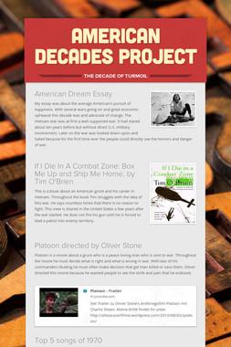 American Decades project