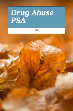 Drug Abuse PSA