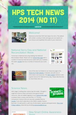 HPS Tech News 2014 (No 11)