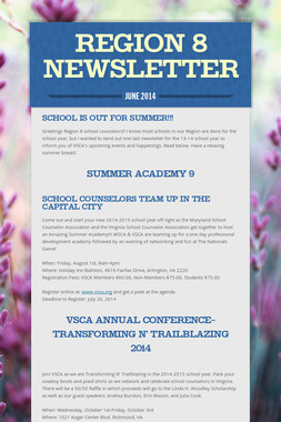 Region 8 Newsletter