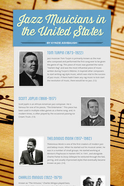 Jazz Musicians in the United States