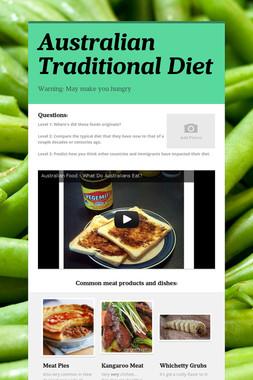 Australian Traditional Diet