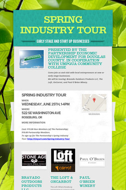SPRING INDUSTRY TOUR