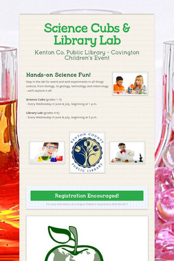 Science Cubs & Library Lab