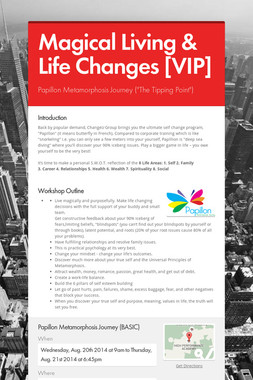 Magical Living & Life Changes [VIP]