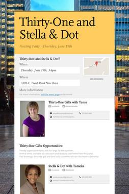 Thirty-One and Stella & Dot