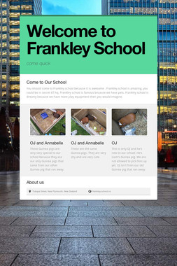 Welcome to Frankley School