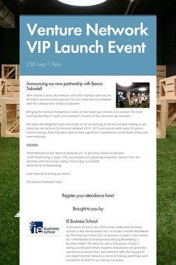 Venture Network VIP Launch Event
