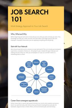 JOB SEARCH 101