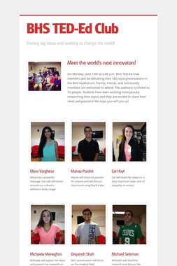 BHS TED-Ed Club