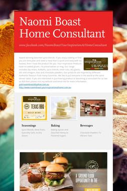 Naomi Boast Home Consultant